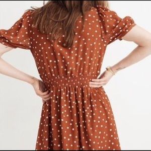Madewell Dresses - Madewell | Smocked Inkspot Mini Dress✨